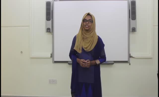 Bangladeşli öğrenciden duygu dolu şiir