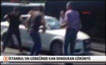 İstanbul'un göbeğinde kan donduran görüntü -video