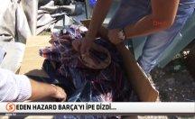 Bir gecekonduda asker ve polise ait malzemeler bulundu -video