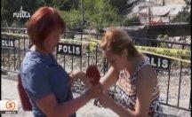 Muhabir canlı yayında bayıldı -video