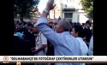 Şehit cenazesi töreninde vatandaştan tepki -video
