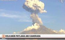 50 yıllık suskunluğunu bitiren yanardağ böyle patladı! -video