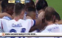 Eden Hazard'tan unutulmayacak efsane gol! -video