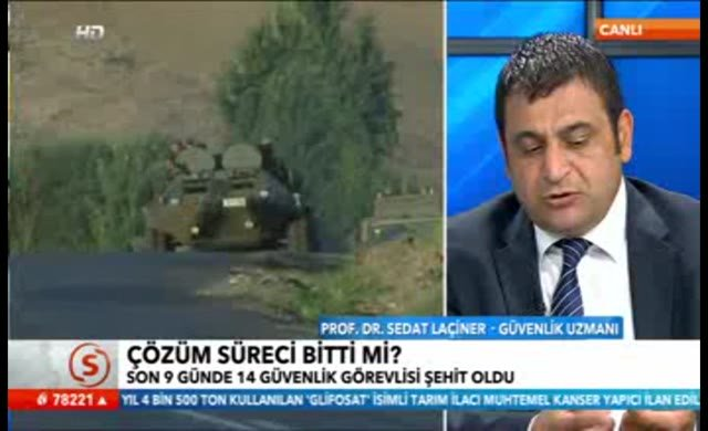 Sedat Laçiner, çözüm sürecindeki skandalı açıkladı