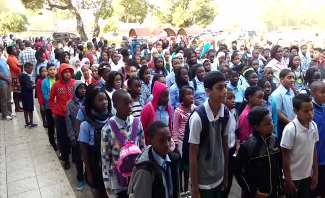 Mozambik'de Türk Koleji'nde büyük çoşku!