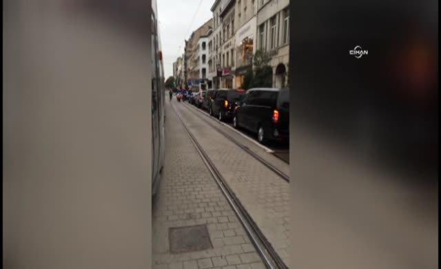 Emine Erdoğan Brüksel'de mağaza kapattı