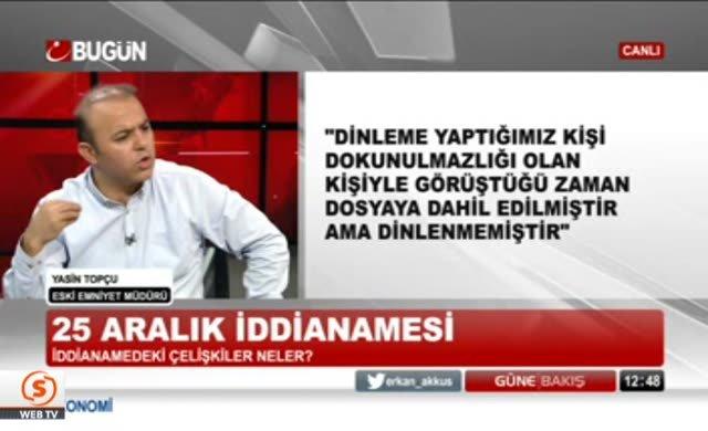 Yasin Topçu'dan hodri meydan