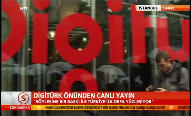 Digiturk'e siyah kurdelalı kumanda protestosu