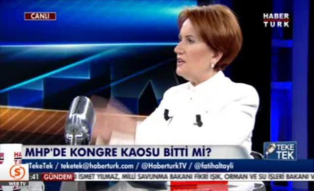 Merak Akşener'den canlı yayında flaş açıklama