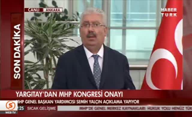 MHP Genel Merkezi seçim kararı aldı
