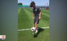 Mesut Özil'den şov