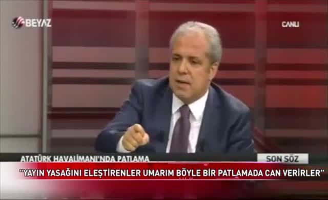 Şamil Tayyar: Eleştirenler umarım böyle bir patlamada can verirler