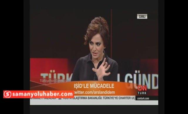 Terörle mücadele konuşuluyordu...CNN Türk