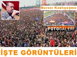 Erdoğan gövde gösterisi yaptı - Foto