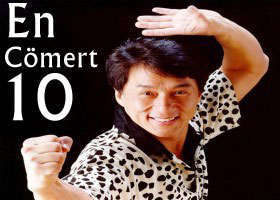 Jackie Chan en cömert listesinde