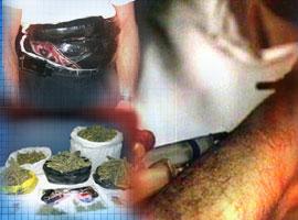 İşte uyuşturucu kaçırma yöntemleri