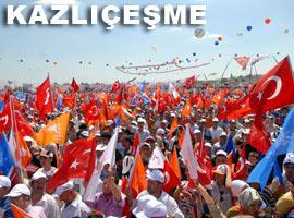 Erdoğan'ın gövde gösterisi - Videolar