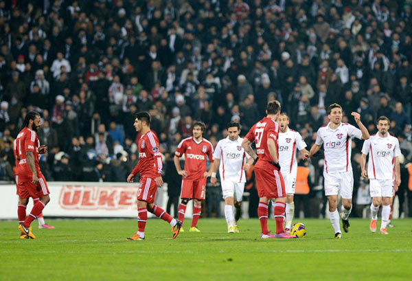 Beşiktaş'tan Gaziantepspor'a son dakika hediyesi